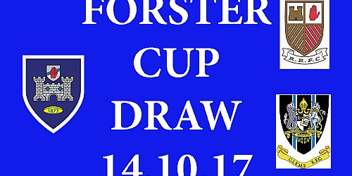 Forster Cup Draw