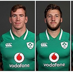 Farrell and McCloskey start for Ireland