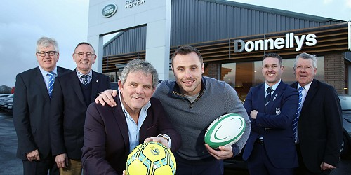 TOMMY BOWE TO CELEBRATE WITH DUNGANNON RUGBY CLUB AND SWIFTS
